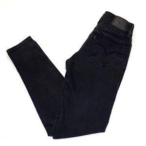 Levi's Super Skinny Jeans Black